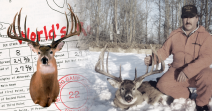 World's Record Whitetail Deer - Typical